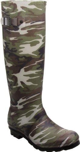 Kamik Women's Squad Rain Boot, Camouflage, 10 M US Women (Camo Rain Boats compare prices)