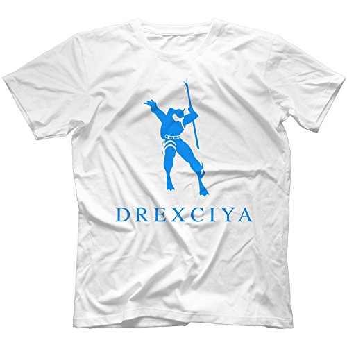Drexciya T-Shirt 100% Cotton | Detroit Electro Underground Resistance Aux 88[White,S]