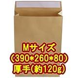 角底 紙袋 Mサイズ(390*260*80) 厚手(約120g) 10枚入
