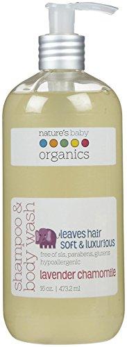 Nature's Baby Organics Shampoo & Body Wash - Lavender Chamomile - 16 oz