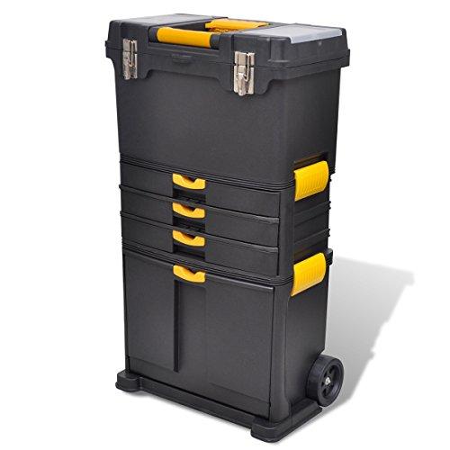 Tragbarer-Werkzeugkoffer-Trolley-Werkzeugaufbewahrung