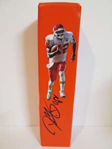 Dwayne Bowe Autographed Signed Custom Kansas City Chiefs Photo Football End Zone... by Southwestconnection-Memorabilia