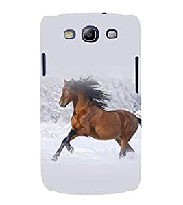 printtech Nature Animal Horse Back Case Cover for Samsung Galaxy S3 Neo / Samsung Galaxy S3 Neo i9300i