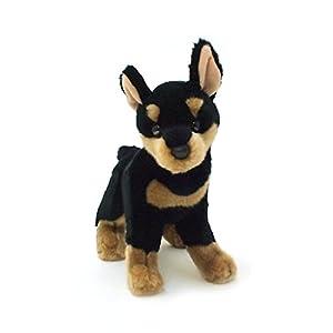 Amazon.com - Douglas Corporation dog stuffed Miniature Pinscher (L) -