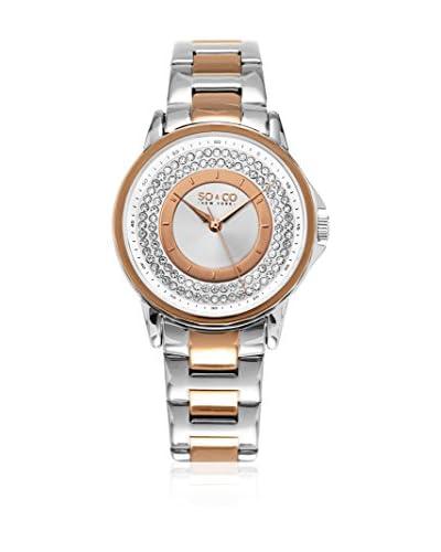 SO & CO New York Reloj con movimiento cuarzo japonés   36 mm