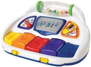 Baby Einstein Baby Piano in English, Spanish and French - 1