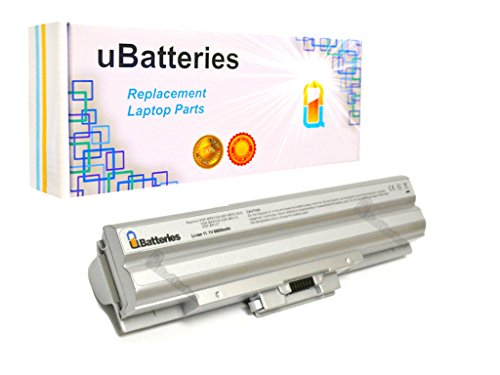 Click to buy UBatteries Laptop Battery Sony VAIO VGN-FW190 VPCCW1KGX/U VGN-FW190EGH VGN-FW190EFW VPCCW1RFX/W VPCCW1RFX/P - 11.1V, 6600mAh (Silver) - From only $49.98