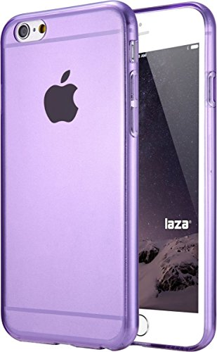 Laza [Slim Jelly] Case Premium Soft Flexible Slim-Fit TPU Case Translucent Showoff Design Case Cover for Apple iPhone 6/6s (4.7) - Purple (Iphone6 Jelly compare prices)