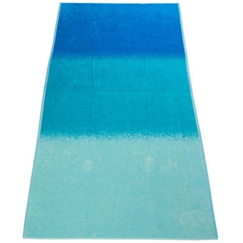 aneesi-bath-leisure-telo-mare-in-cotone-100-x-180-cm-modello-ocean-spray-colore-blu