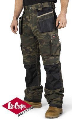 d72a072aee Cheapest online ✾ Size 32/34, Lee Cooper Moss Camouflage Camo Knee ...