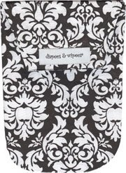 Diapees and Wipees Accessory Bag - Dandy Damask