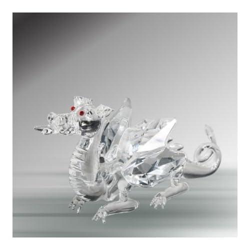 Amazon.com: Crystal Dragon Figurine By Crystal Florida