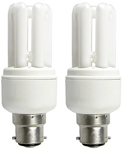 Osram 5W Mini Stick CFL Bulb (White, Pack of 2)