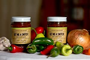 Get Me A Switch spicy pepper relish (12 oz.) from Cottage Lane Kitchen