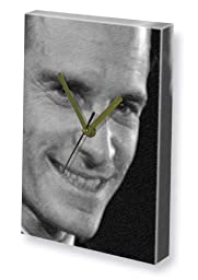 MICHAEL FASSBENDER - Canvas Clock (LARGE A3 - Signed by the Artist) #js003