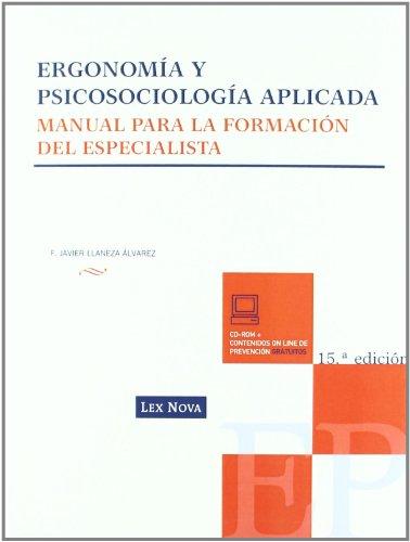 ERGONOMIA Y PSICOSOCIOLOGIA APLICADA