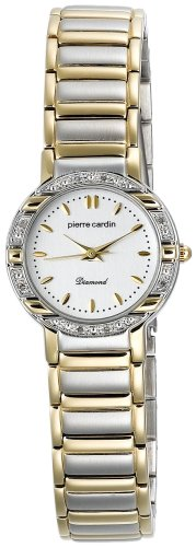 Pierre Cardin Women's Diamond Collection Two-Tone Diamond Accented Watch #PCD4003TS