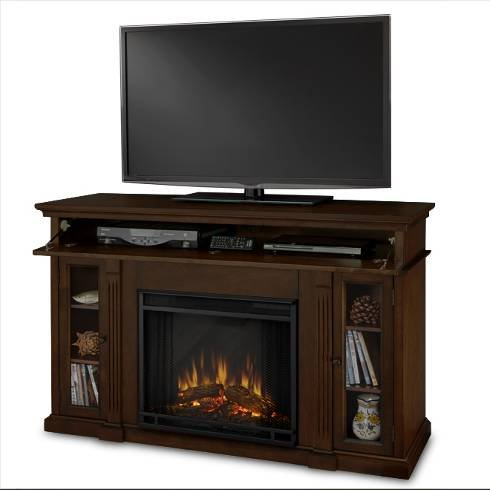 Real Flame Lannon 3300-X-E Electric Fireplace In Espresso - Mantel Only