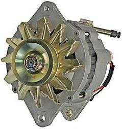 ALTERNATOR NISSAN LIFT TRUCK H02 KH02 SD25 DIESEL, 1983-85 NISSAN CAR 720 KING CAB PICKUP 2.3 2.5