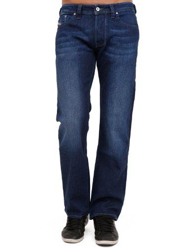 Diesel Larkee Rfj8 Straight Blue Man Jeans Men - W29l32