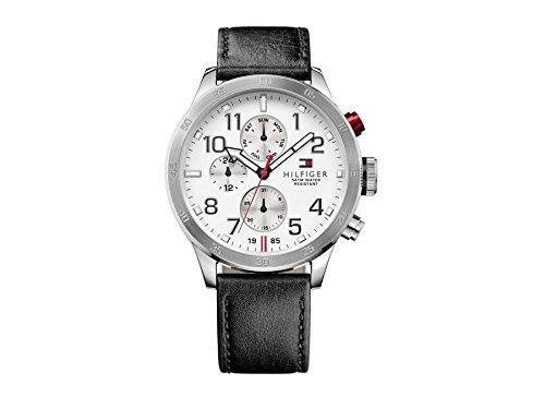 Tommy Hilfiger Herren-Armbanduhr Analog Quarz Leder 1791138 thumbnail
