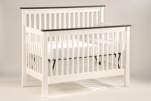 Capretti Design New England Cherker Convertible Crib, Slat, Natural