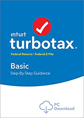 TurboTax Basic 2016 Tax Software Federal + Fed Efile PC/Mac