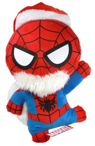 "Sega Spider-Man Marvel Super Jumbo Santa Claus 19"" Plush Doll"