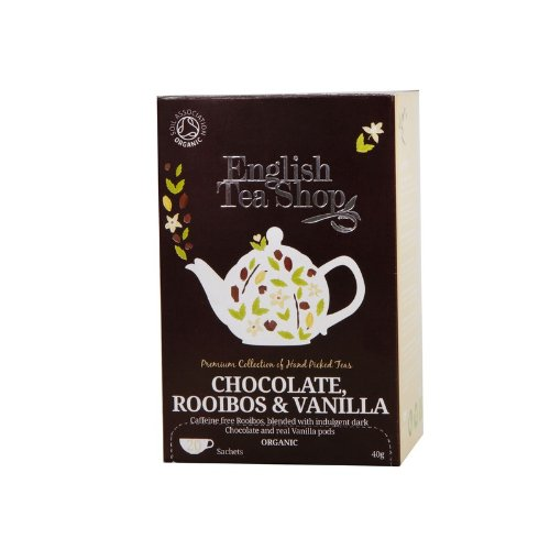 English Tea Shop - Rooibos Chocolate Vanilla, BIO, 20 Teebeutel