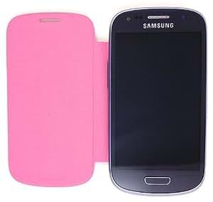 Flip Cover Case for Samsung Galaxy S III Mini GT-I8190 / S3 Mini GT-I8190 / SM-G730A / SCH-R530 / SM-G730V - Pink