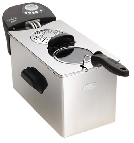Great Purchase Rival Czf600 Cool Zone Digital Deep Fryer Stainless