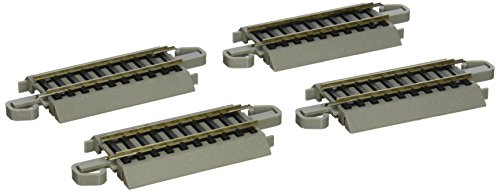 "Bachmann Trains Snap-Fit E-Z Track 3"" Straight Track (4/card)"