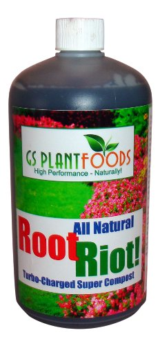 Root Riot! Turbo Charged Liquid Compost 1 Quart Concentrate