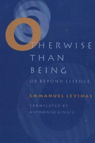Otherwise Than Being: Or Beyond Essence PDF