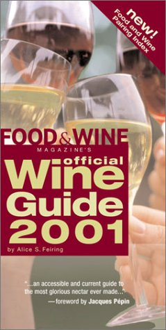 Image for Food & Wine Magazines Official Wine Guide 2001