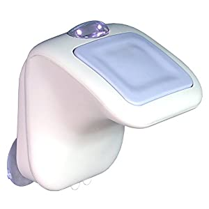 Amazon Com Zadro Luma Step N Shave White And Purple