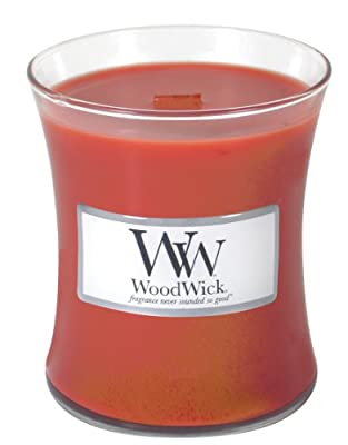 WoodWick Cinnamon Chai Candle, Red, Large