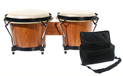 Technote 7 inch and 8 inch Bongo Set - Natural Wood
