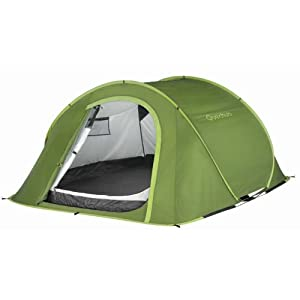 3 man greeb pop up tent
