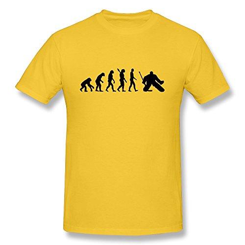 Evolution Hockey Goalie Men'S Latest Tee Shirts