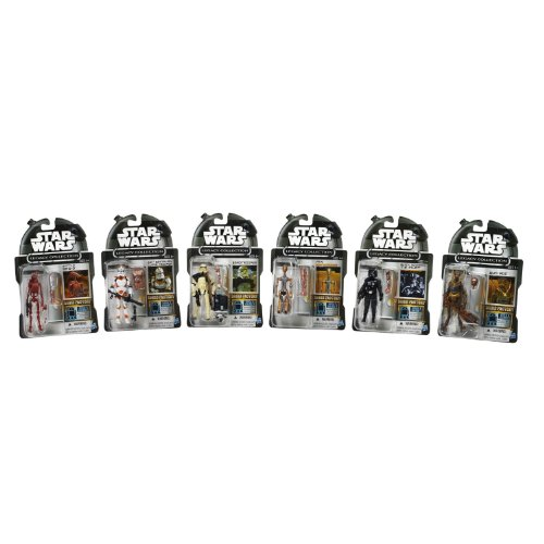 Star Wars Legacy Collection Droid Factory Action Figure, 6-Pack [Amazon Exclusive]