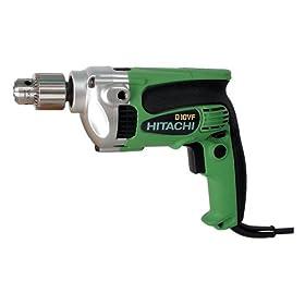 Hitachi D10VF 9 Amp 3/8-Inch Drill