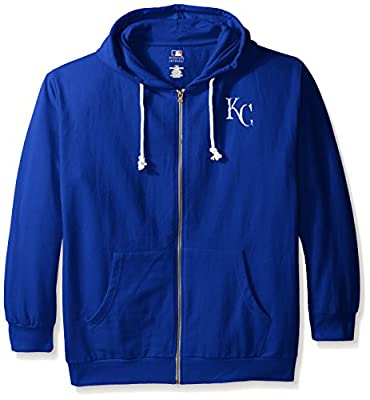 MLB Women's Plus Size Zip Hood with Logo