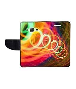 KolorEdge Printed Flip Cover For Samsung Galaxy Z1 Multicolor - (43KeMLogo11946SamZ1)