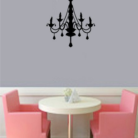 Chandelier Living Room Sofa Decoration Stickers front-902717