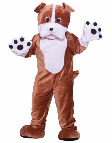 Bull Dog Adult Mascot Costume