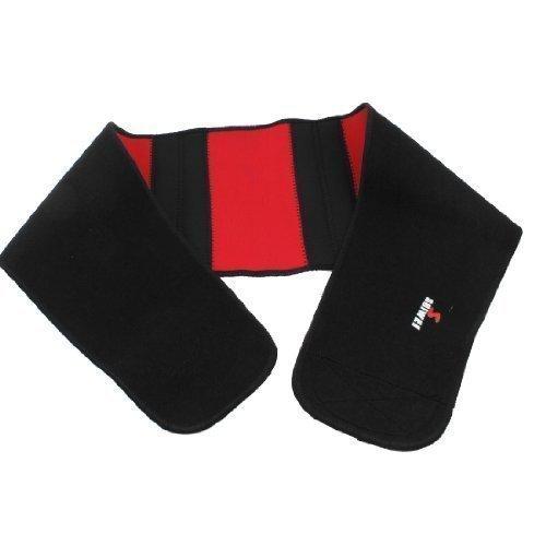 sollievo-dal-dolore-dolore-schiena-magnetico-lombari-vita-supporto-tutore-cintura-nero-rosso