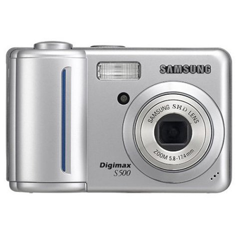 4100M89EZXL Samsung Digimax L60 6.0MP Digital Camera with 3x Optical Zoom (Silver)