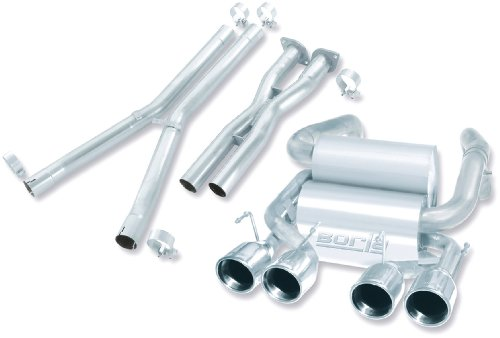 Borla 140293 Cat-Back Exhaust System - CORV C6