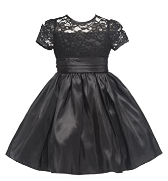 Christmas Party Dress on Amazon Com  Girls Kid Collection New Lacey Party Dress  Clothing